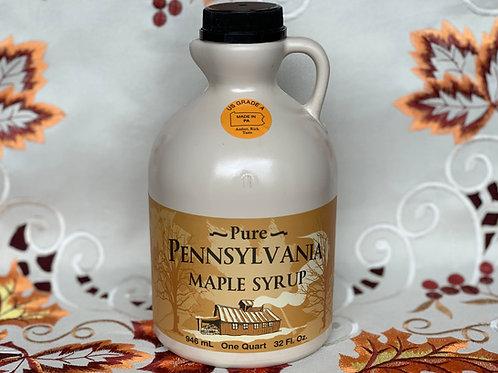 Amber Maple Syrup - Quart