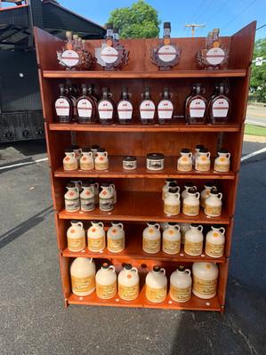 Amber & Dark syrup Robinson Farmers Market 6-1-2020