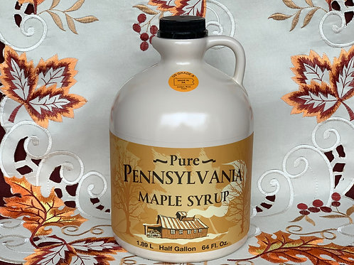 Amber Maple Syrup - 1/2 Gallon