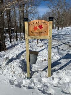 BHMF Sign - Winter