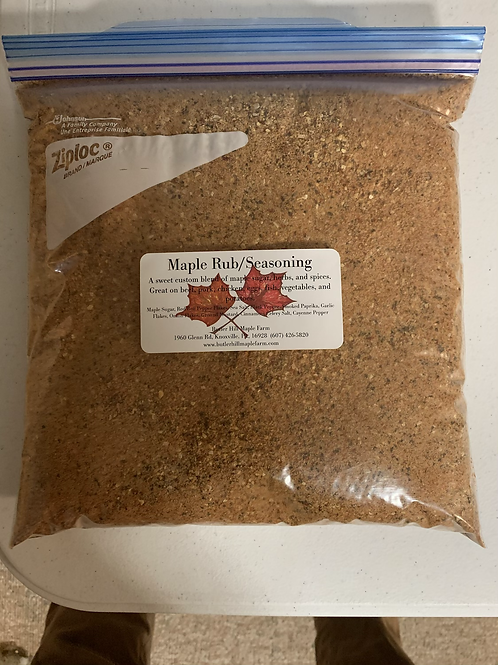 4lb Bag Maple Rub/Seasoning Mix