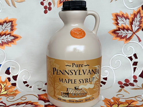 Dark Maple Syrup - Quart
