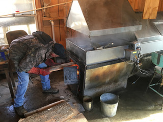 Firing the evaporator