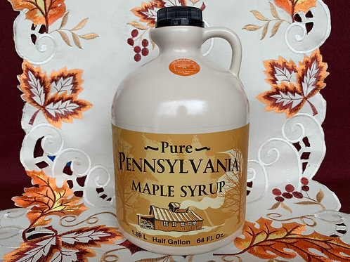 Dark Maple Syrup - 1/2 Gallon