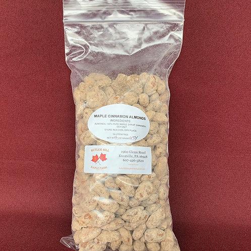 Almonds, Maple & Cinnamon Coated - Pound