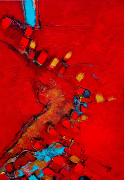 Red Earth, 40x30, right side, 2013