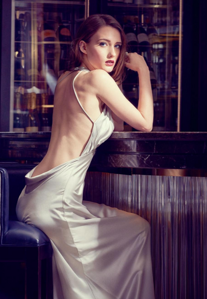 Drama-Queen-cocktail-bar-gown-silver-gla