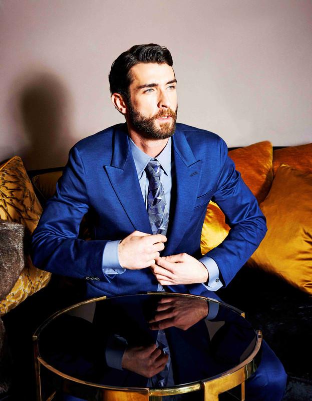 blue-suit-formal-menswear-interior-decor