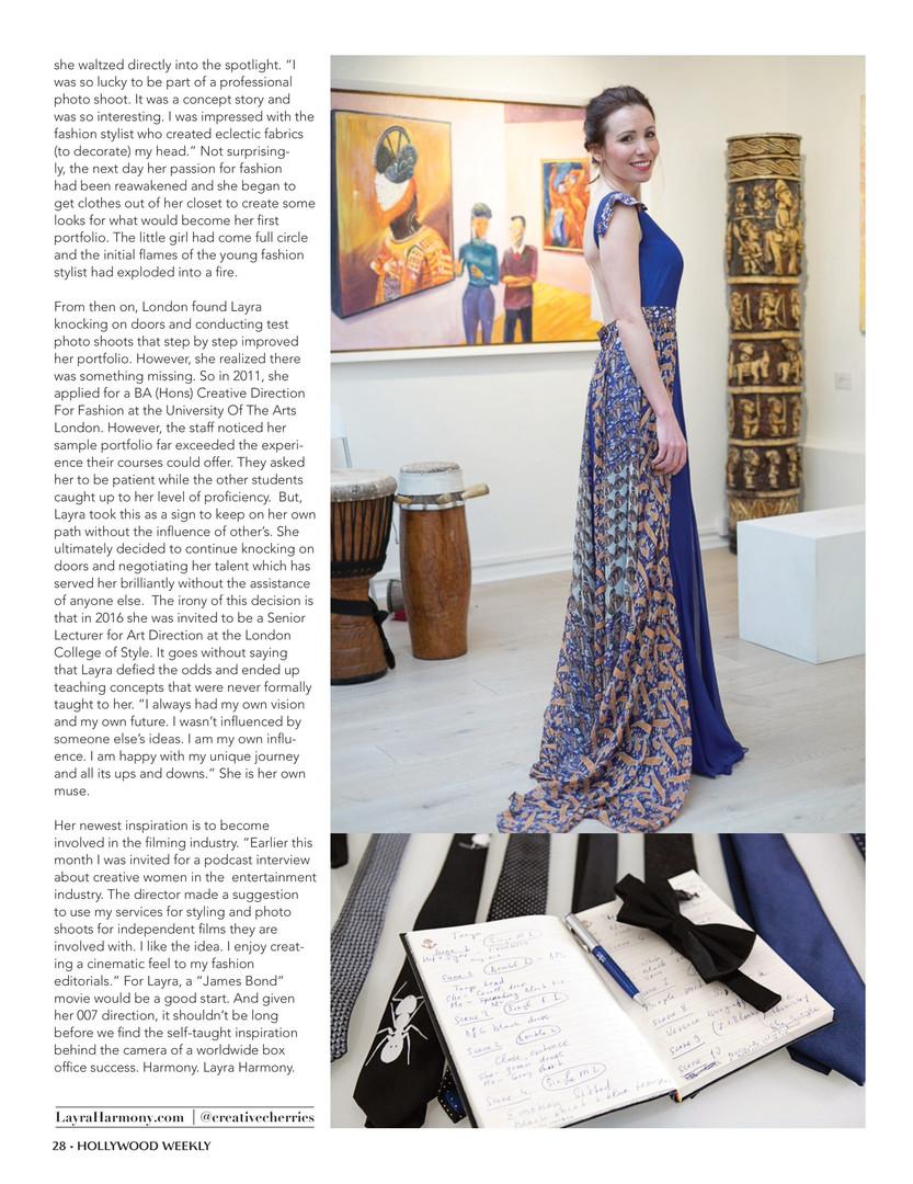 Layra-Harmony-article-hollywood-magazine