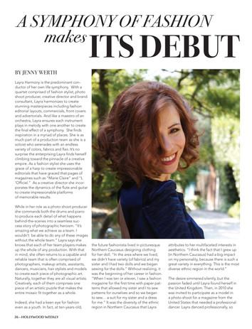 Layra-Harmony-article-hollywood-magazine 1