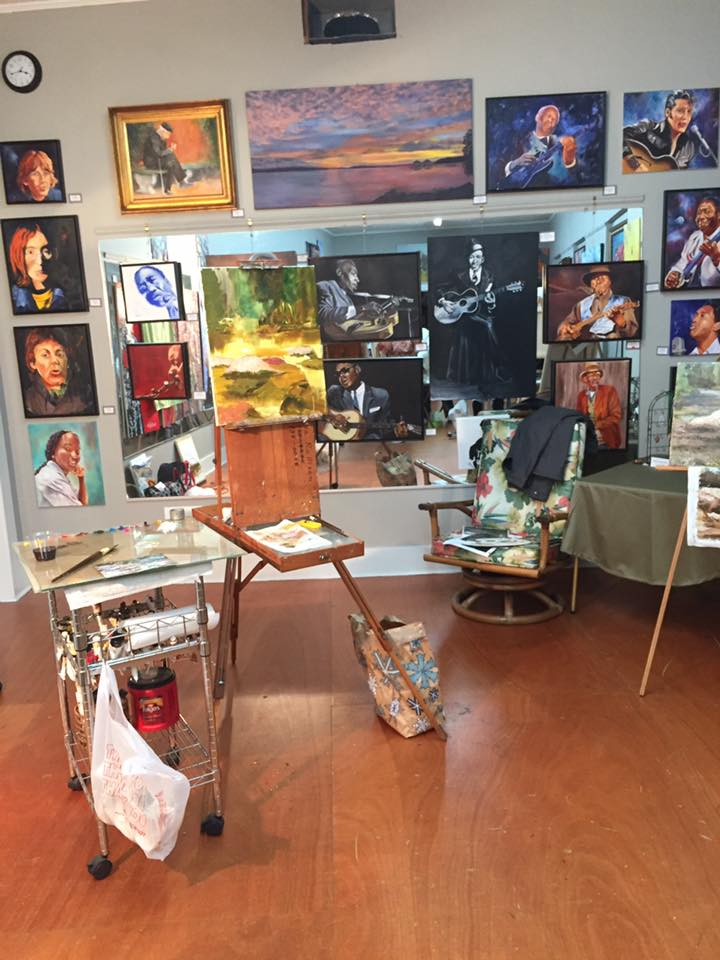 Gloria Rallison Workshop at Gallery 307 - 3