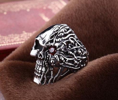 Ring Skull half Brain