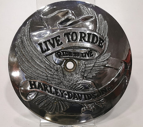 HD org. air cleaner trim - Live to Ride - Ride to Live