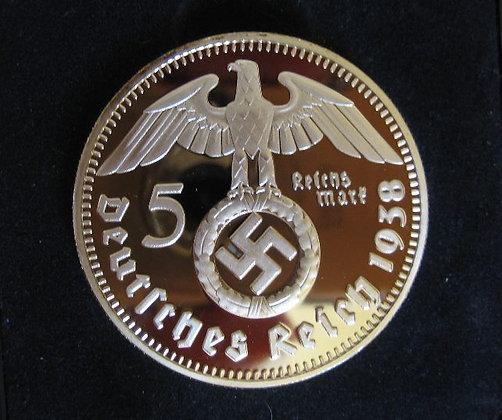 German 5 Rigsmark kopi