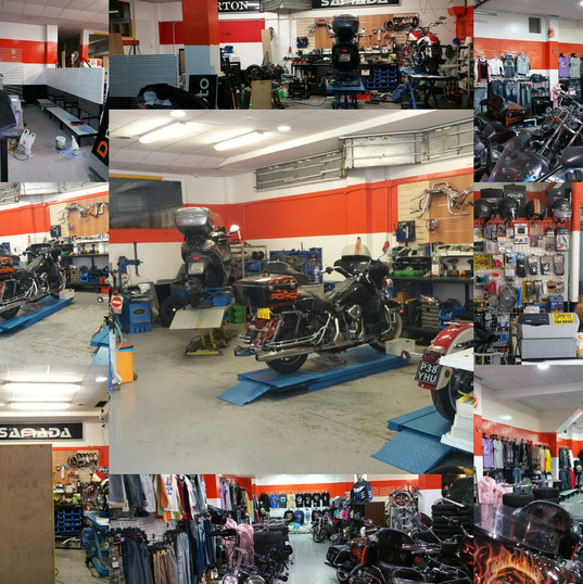 Shop collage