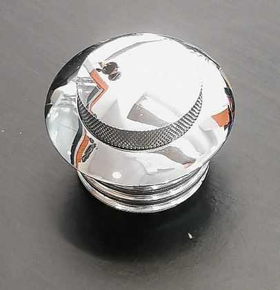 Fuel Cap chrome w/ push lid
