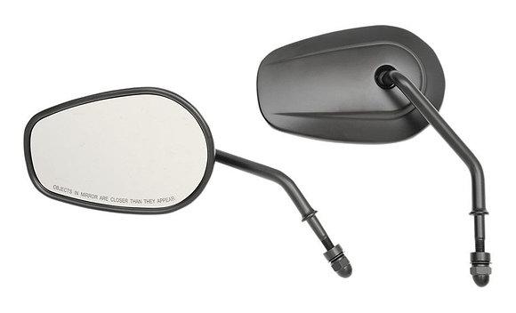 Teardrop mirrors OEM Style - Drag Specialties
