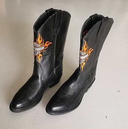 Boots - org. Harley-Davidson leather boots