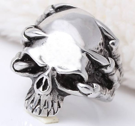 Ring Skull with claw