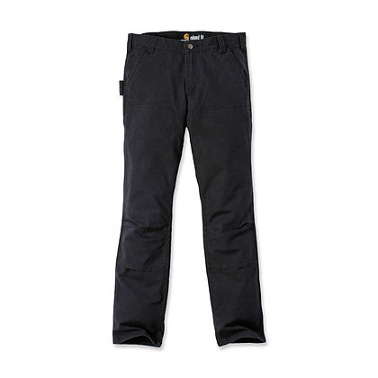 Carhartt work pants stretch duck double front - black