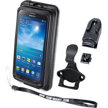 RAM MOUNT CRADLE HOLDER AQUA BOX PRO 20 IPHONE 3/4/5 CASE AND CLIP TRANSPARENT C