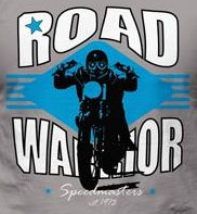 T-Shirt - Road Warrior - LOGO Back piece
