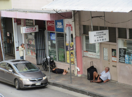 Growth of Homeless Population in Chinatown is Unsustainable.