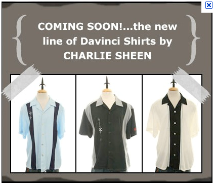 The Charlie Sheen Collection by Da Vinci of California