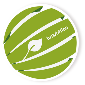 b.n.t. Scandinavia - Green Pen Logo