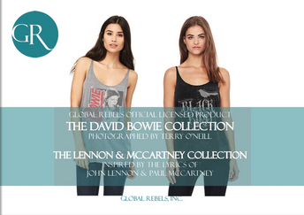 Licensed Product - The Lennon & McCartney Collection (Sony/ATV) David Bowie by Terry O'Neill (Iconic Images)