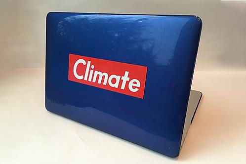 Climate Sticker