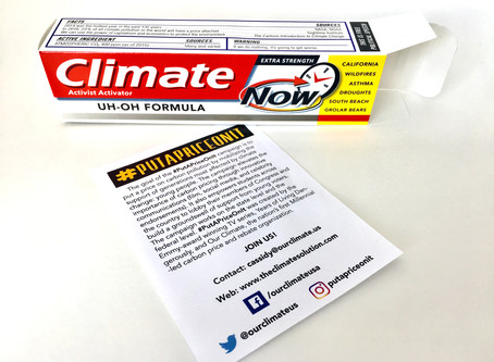 Climate Toothpaste Goes to College