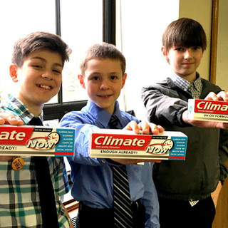 Climate Toothpaste in the House!