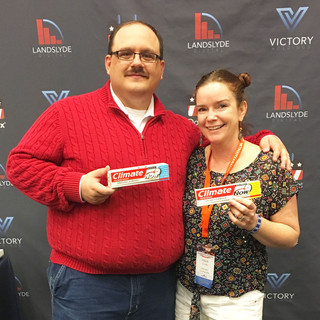 With Ken Bone at Netroots Nation '17