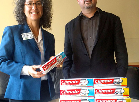 Climate Toothpaste's brush with greatness