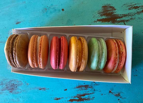 Summer 6 Pack Macarons