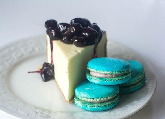 Blueberry Cheesecake Macaron