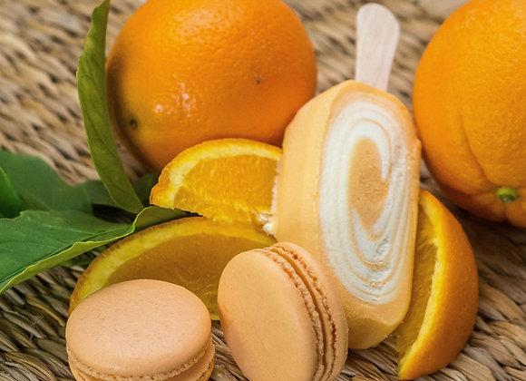 Orange Creamsicle Macaron