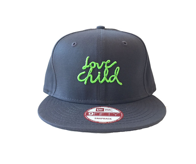 Neon Green Logo Snap Back - SOLD OUT