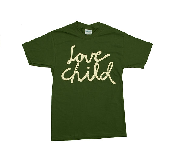 Hunter Green Logo Tee