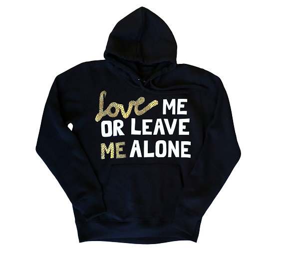 Love Leave Hoody
