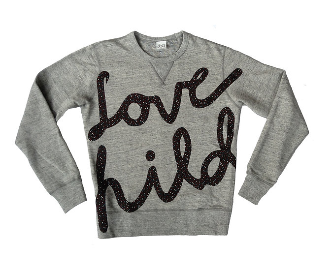 Spekled Love Grey Crew