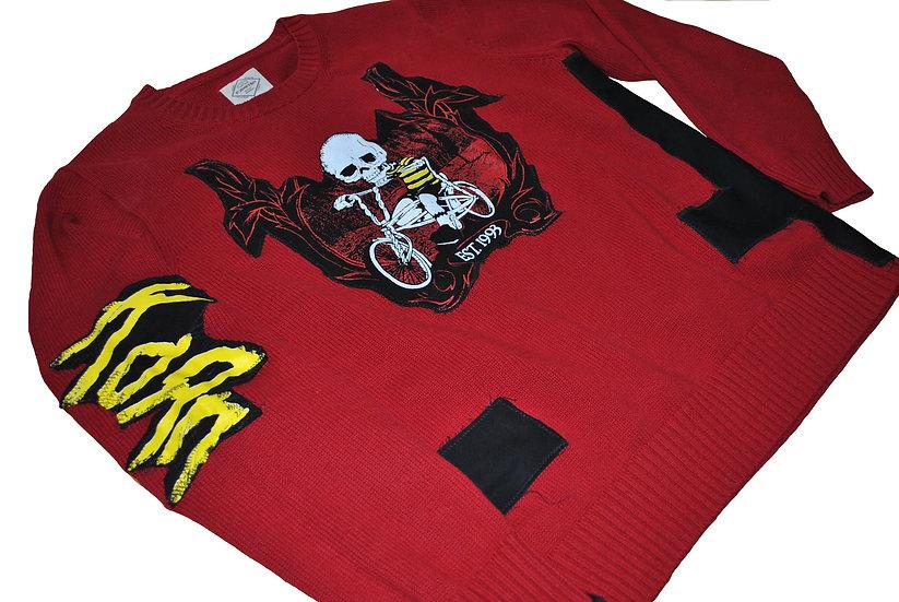 Dark Denim Korn Sweater