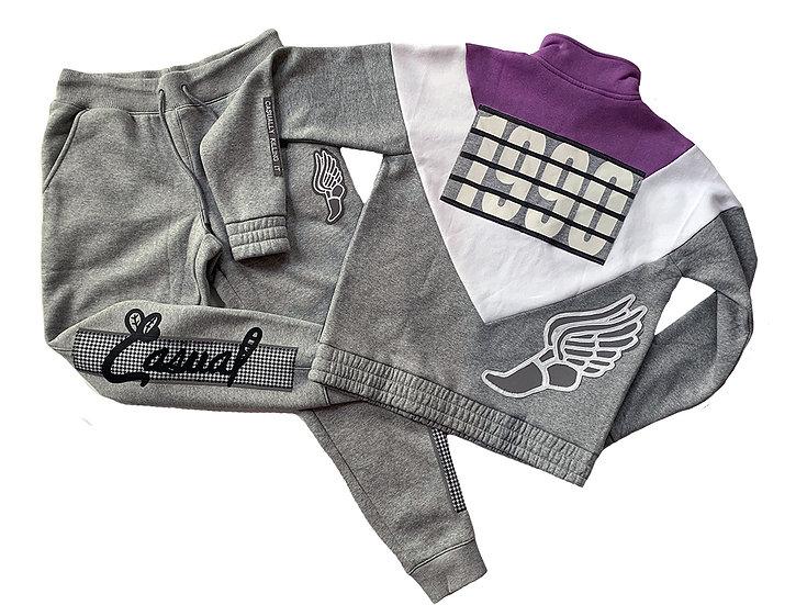 1990 Reflective Tracksuit Grey