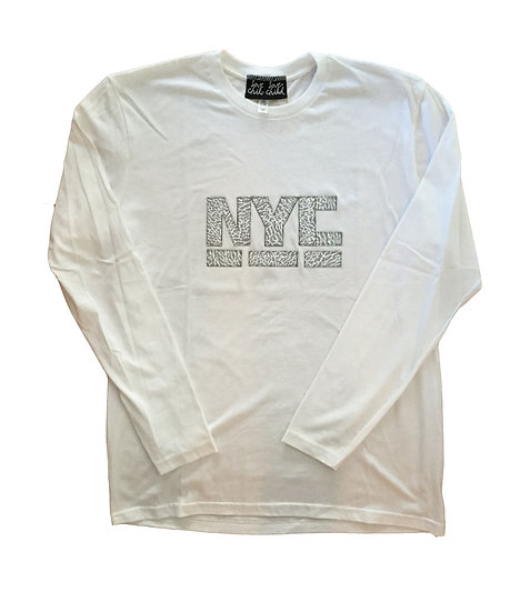 NYC CEMENT LONG SLEEVE T
