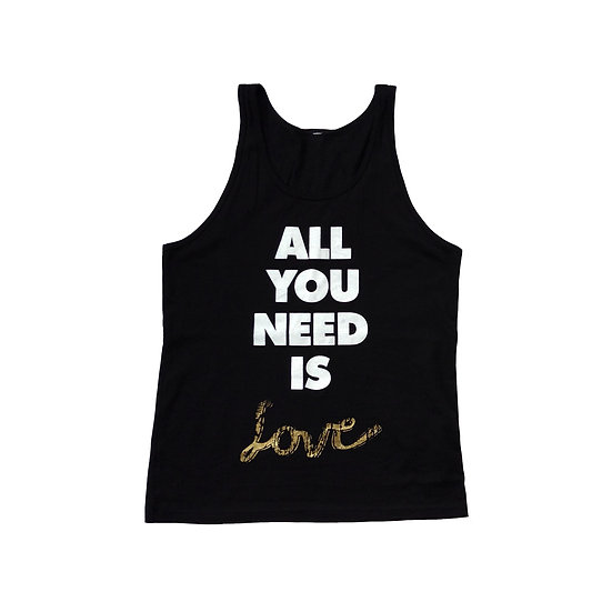 All You Need Is Love Black - SOLD OUT