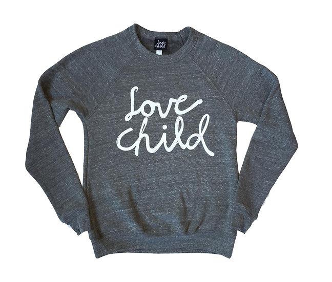 OG Love Child Logo Crew