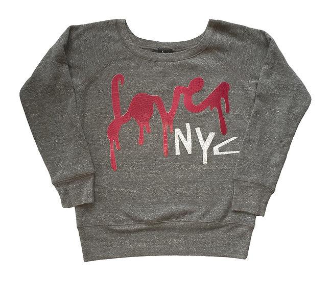 Pink Snake Drip Love NYC