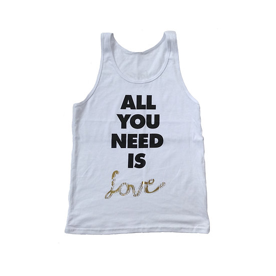 All You Need Is Love White - SOLD OUT