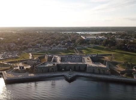 Visite de St-Augustine, la plus vieille ville aux États-Unis